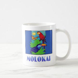 Macaw, Parrot, Butterfly & Jungle MOLOKAI Mugs