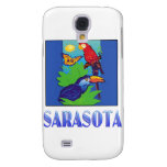 Macaw, Parrot, Butterfly & Jungle SARASOTA Samsung Galaxy S4 Covers