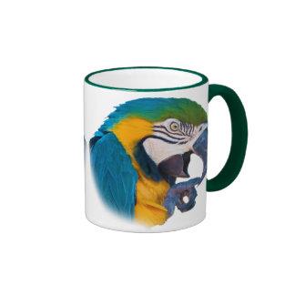 Macaw Parrot, Customizable Mug