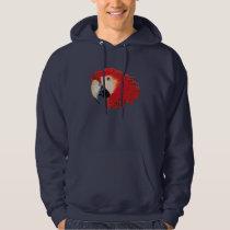 Macaw Parrot Hooded Sweatshirt