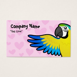 Macaw / Parrot Love Business Card