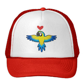 Macaw / Parrot Love Trucker Hat