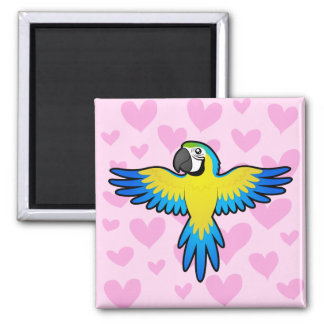 Macaw / Parrot Love Magnet