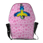 Macaw / Parrot Love Messenger Bags