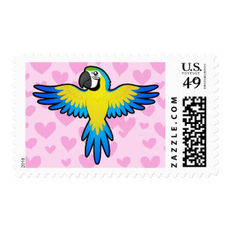 Macaw / Parrot Love Postage