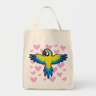 Macaw / Parrot Love Tote Bag