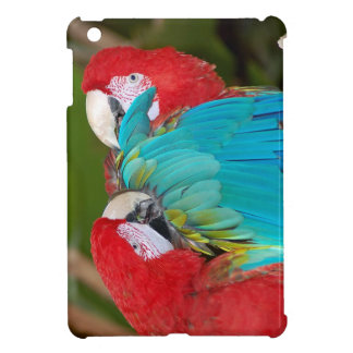 Macaw parrot print ipad mini cover