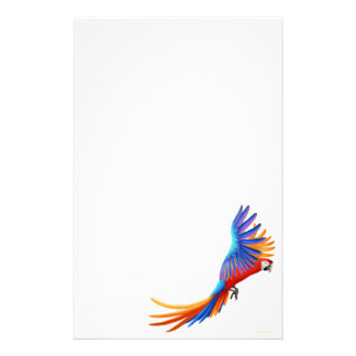 Macaw Parrot Stationery