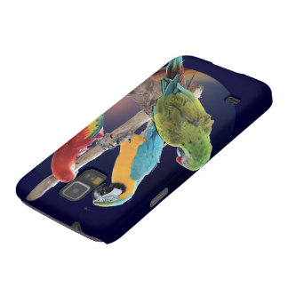 Macaw Parrots Case For Galaxy S5