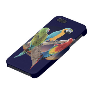 Macaw Parrots Cover For iPhone SE/5/5s