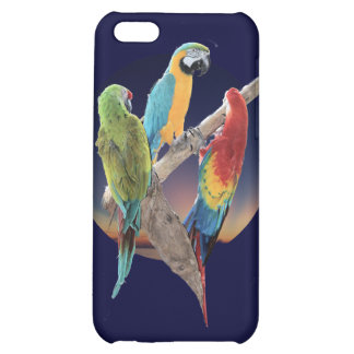 Macaw Parrots iPhone 5C Covers
