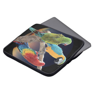 Macaw Parrots Laptop Computer Sleeve