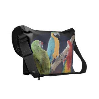 Macaw Parrots Messenger Bag