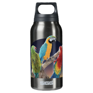 Macaw Parrots 10 Oz Insulated SIGG Thermos Water Bottle