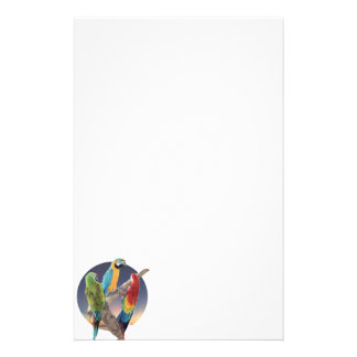 Macaw Parrots Stationery