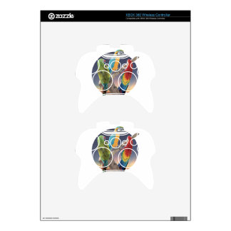 Macaw Parrots Xbox 360 Controller Decal