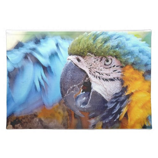 Macaw Placemat Manteles