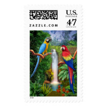 MACAW TROPICAL PARROTS POSTAGE