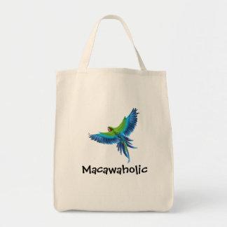 Macawaholic Tote Bag