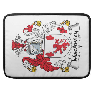 MacAwley Family Crest MacBook Pro Sleeve