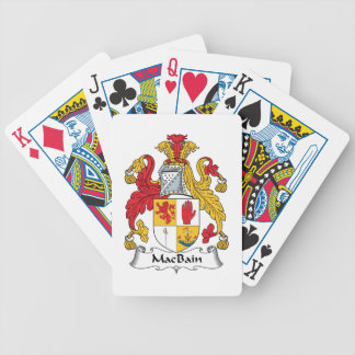 MacBain Family Crest Bicycle Playing Cards