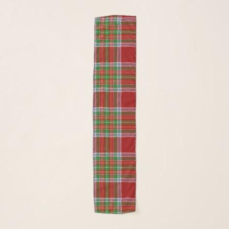 MacBain MacBean Scottish Clan Tartan Plaid Scarf