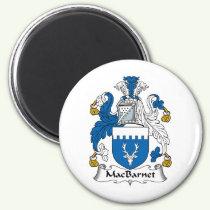 MacBarnet Family Crest Magnet