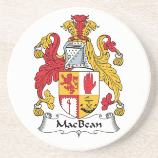 MacBean Family Crest Drink Coasters
