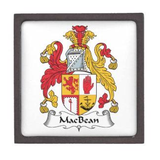 MacBean Family Crest Premium Trinket Box