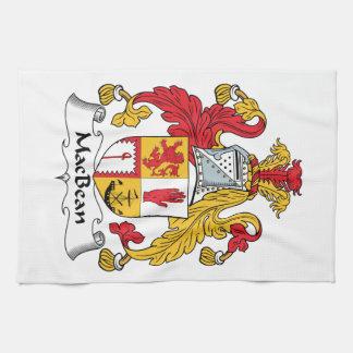 MacBean Family Crest Towel