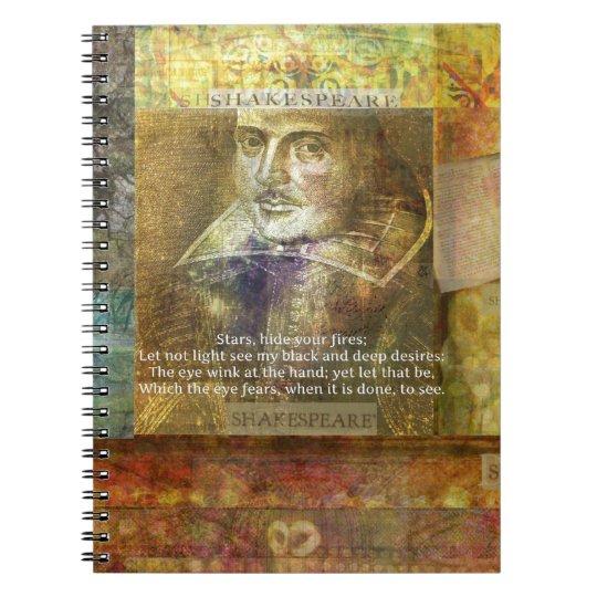 MACBETH, Act 1 Scene 4 QUOTE Notebook