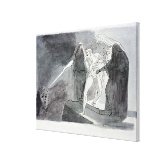 Macbeth and the Armed Head Canvas Print