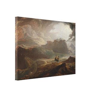 Macbeth at the Battle of Dunsinane Canvas Print