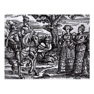 Macbeth, Banquo and the Three Witches Postcard