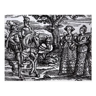 Macbeth, Banquo y las tres brujas Postales