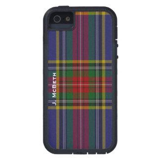 MacBeth Clan Tartan Plaid iPhone 5S Case