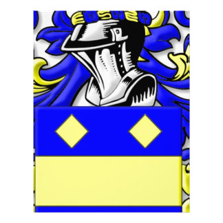 MacBeth Coat of Arms Personalized Letterhead