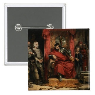 Macbeth instructing the Murderers 2 Inch Square Button