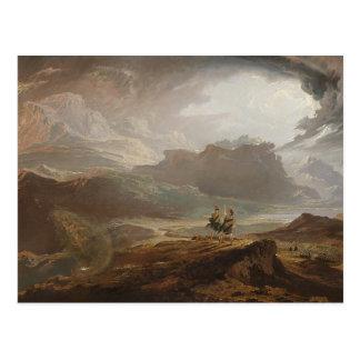 Macbeth - John Martin (1820) Postcard