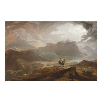 Macbeth - John Martin (1820) Stationery
