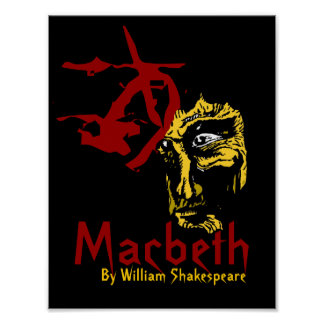Macbeth Poster Shakespeare Festival Theatre Arts