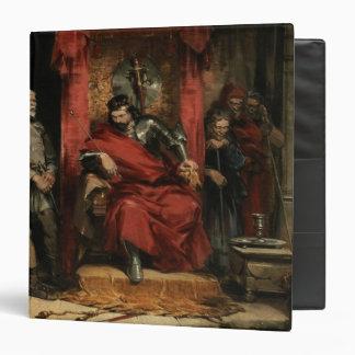 """Macbeth que da instrucciones a los asesinos carpeta 1 1/2"""""""