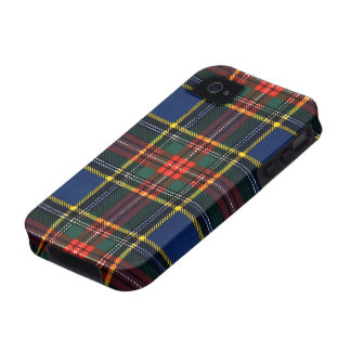 Macbeth Tartan iPhone 4 Case