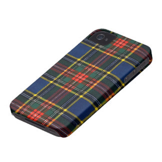Macbeth Tartan iPhone 4 Case