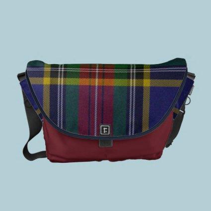MacBeth Tartan Plaid Messenger Bag