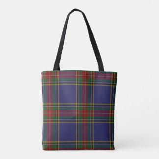 MacBeth Tartan Plaid Monogrammed Body Bag