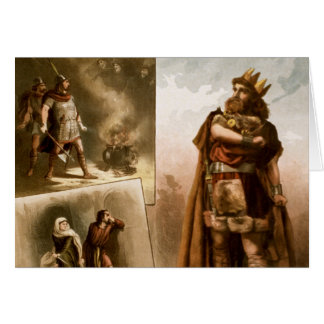 Macbeth, the Play 1884 Greeting Cards