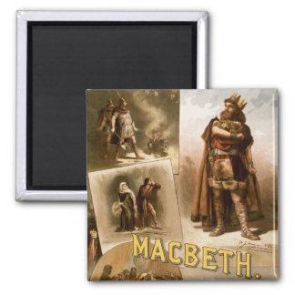 Macbeth, the Play 1884 Fridge Magnets