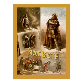 Macbeth, the Play 1884 Post Cards