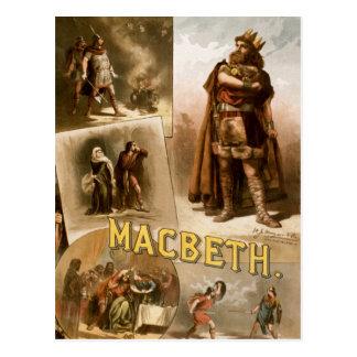 Macbeth, the Play 1884 Post Card